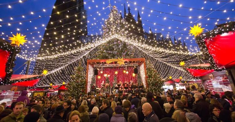 Mercadillo navideño en Colonia, Alemania