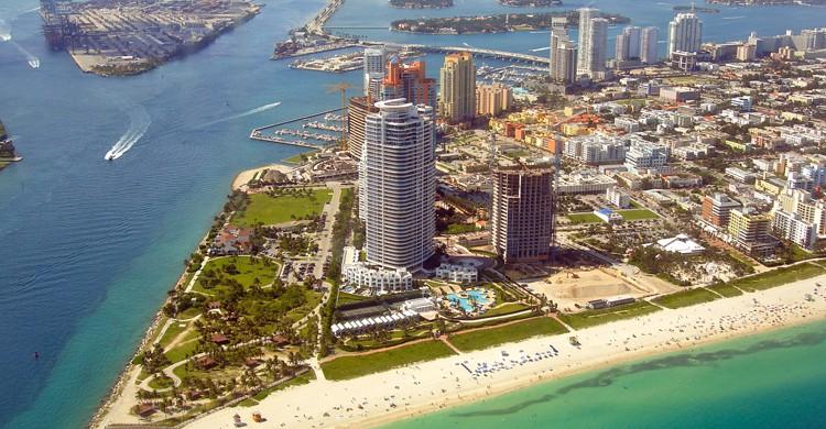 Vista aérea de Miami (iStock)