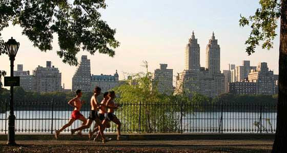 senderos de kilómetros, ideales para la práctica del jogging