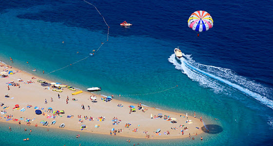 El Cuerno Dorado es una de las playas más famosas del mundo