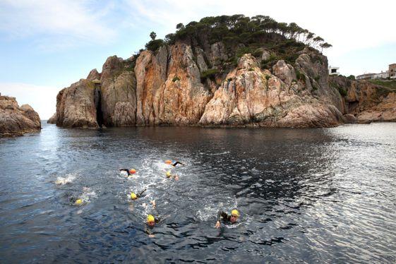 Las Vías Bravas son un método ideal y muy deportivo de conocer la Costa Brava