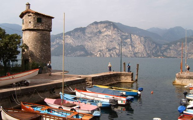 Gardone Riviera es la población ribereña más importante del lago de Garda