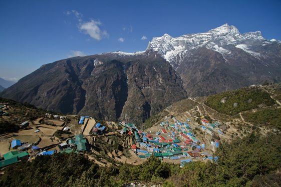 Las alturas del Everest y los sherpa, los protagonistas del parque nacional de Sagarmatha, en Nepal