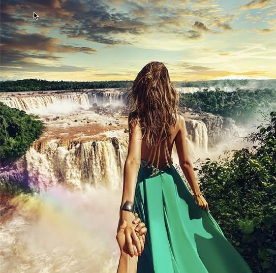 Las cataratas del Iguazú vistas por @muradosmann