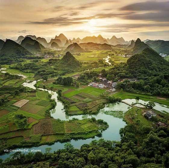 Guangxi. Foto de @wonderfulplaces