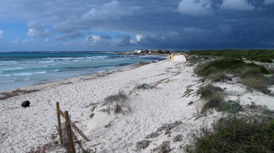 Playa de Es Trenç, en Mallorca.