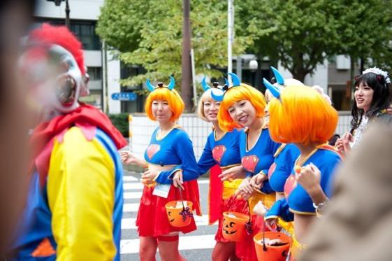 Es Kawasaki Halloween Parade es el desfile más importante de Japón
