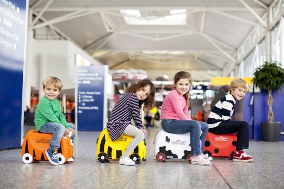 Las maletas Trunki, un básico para nuestros pequeños viajeros.