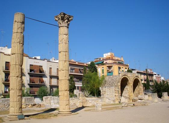 El Foro de Tarraco.