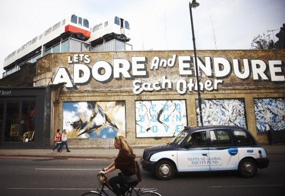 Brick Lane está en el East End, la zona de moda de Londres.