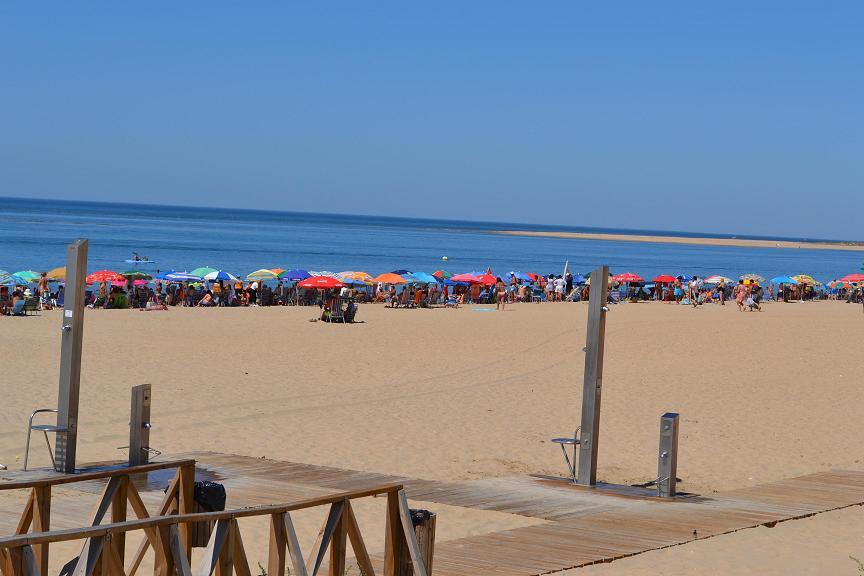 Playas de Punta Umbría, Huelva.