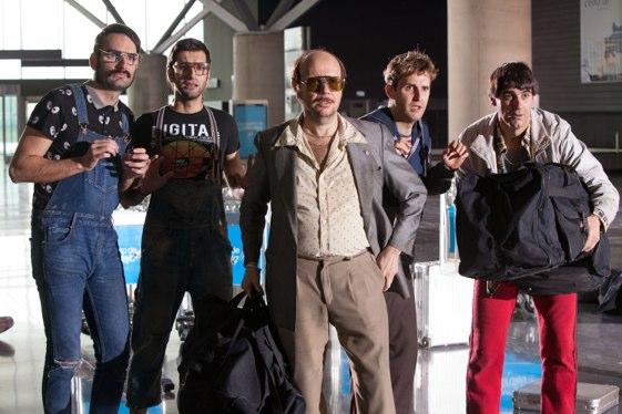 Un reparto hetereogéneo: de Jesulín de Ubrique a Alec Baldwin, todo cabe en la película