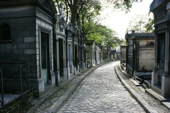 El de Pere Lachaise es probablemente el cementerio más famoso del mundo.