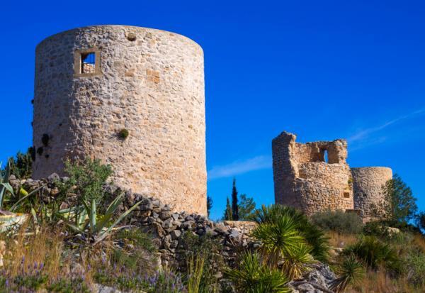 10. Molinos de Jávea (Alicante)