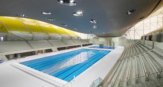London Aquatics Centre / Foto: 準建築人手札網站 Forgemind ArchiMedia