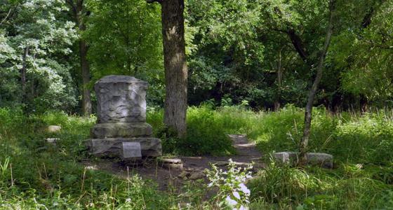 Cementerio Bachelor's Grove / Foto: Chicago Man