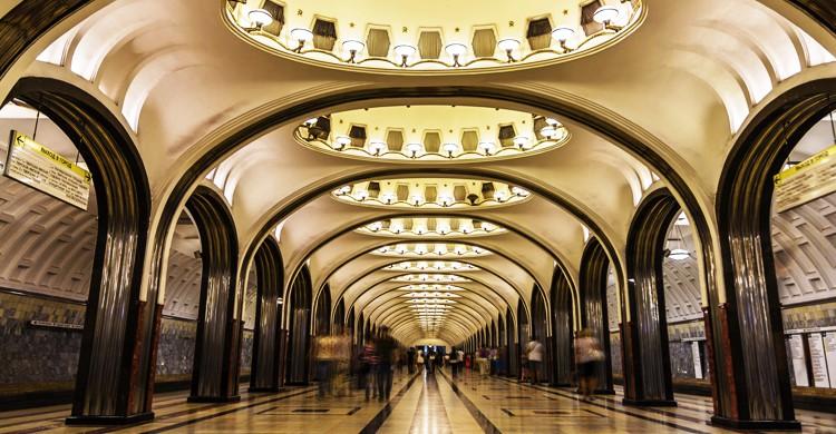 Metro de Moscú (iStock)