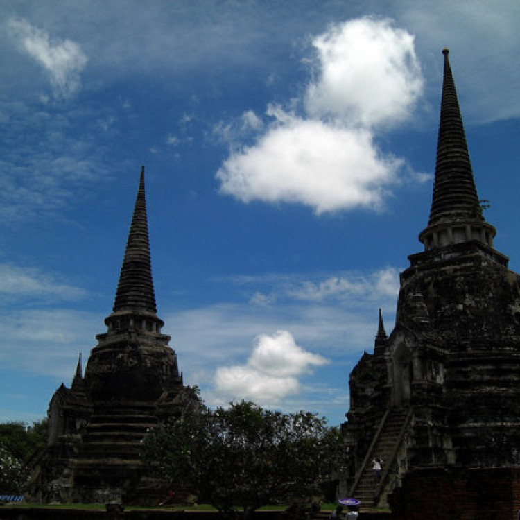 Ayutthaya templo en Tailandia