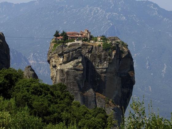 Los Monasterios de Meteora, en Grecia