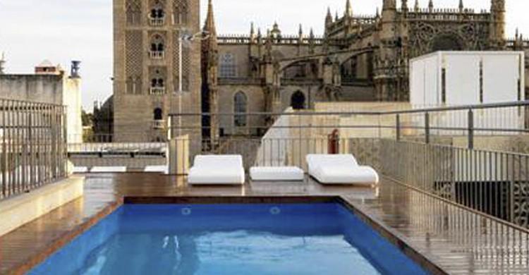 Terraza del hotel EME (Facebook Hotel EME)
