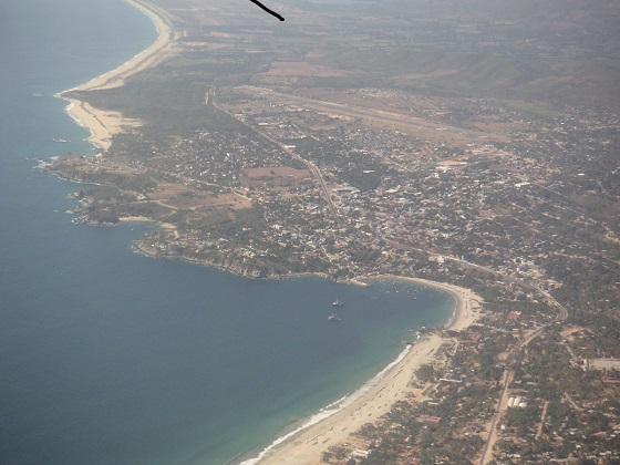 Puerto Escondido en Oaxaca, México