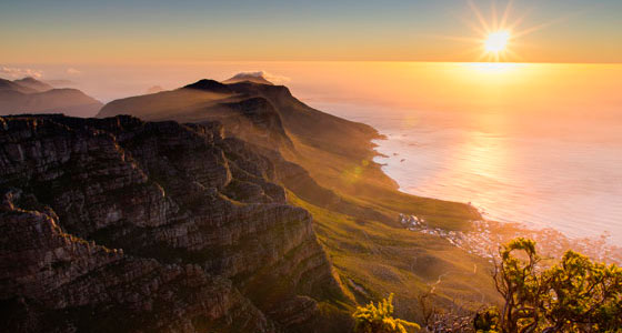 Vistas desde Table Mountain, en Ciudad del Cabo. / Foto: Julian Schroeder