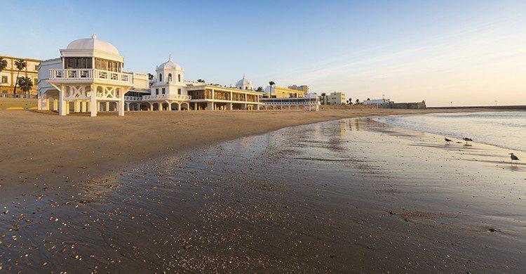 Cádiz playa de la caleta