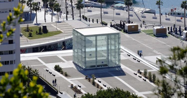 Imagen del Centro Pompidou de Málaga - Ayuntamiento de Málaga, Flickr