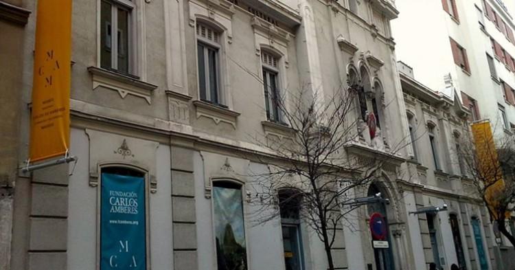 Fachada del Museo Carlos de Amberes en Madrid - Facebook
