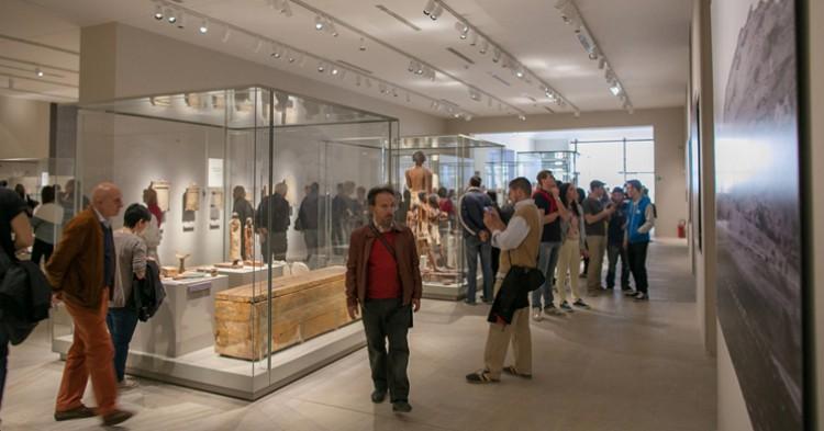 Aspecto de una de las salas del museo - http://www.museoegizio.it/