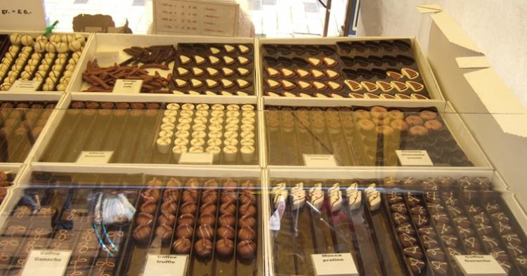 El chocolate belga, objeto ahora de museo - Ben Sutherland, Flickr
