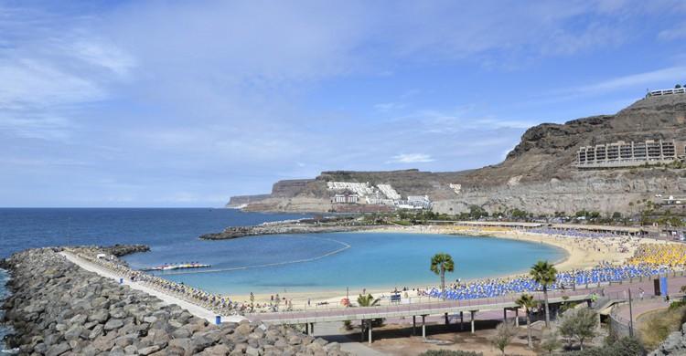 Playa Amadores (iStock)
