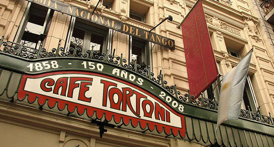 Café Tortoni en Buenos Aires
