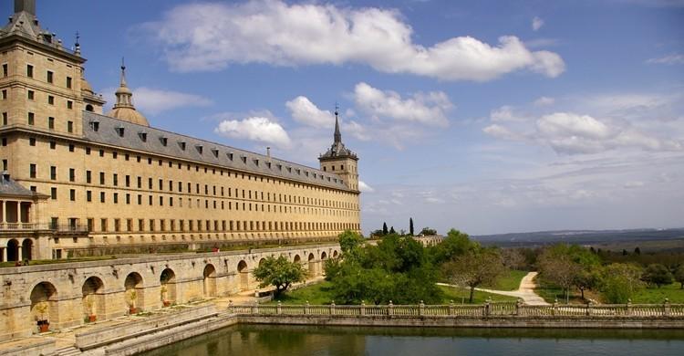 Imagen exterior del monasterio. Pablo Cabezos (Flickr)