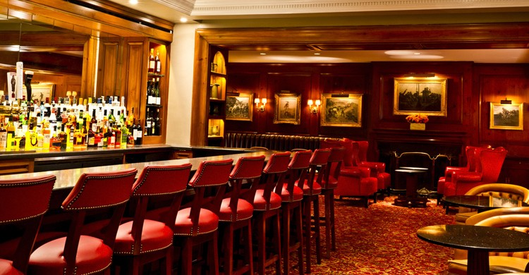 Barra del lounge del 21 Club