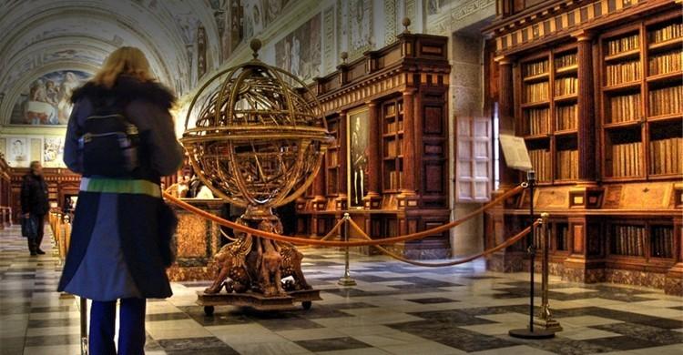 Biblioteca del monasterio. -Merce- (Flickr)