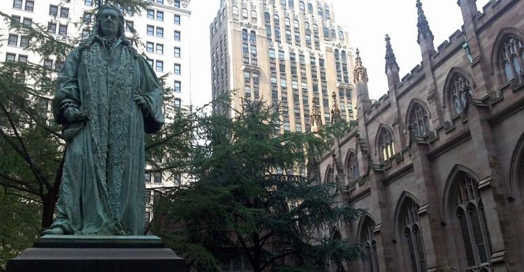 Trinity Church, en Nueva York. Ana Paula Hirama (Flickr).