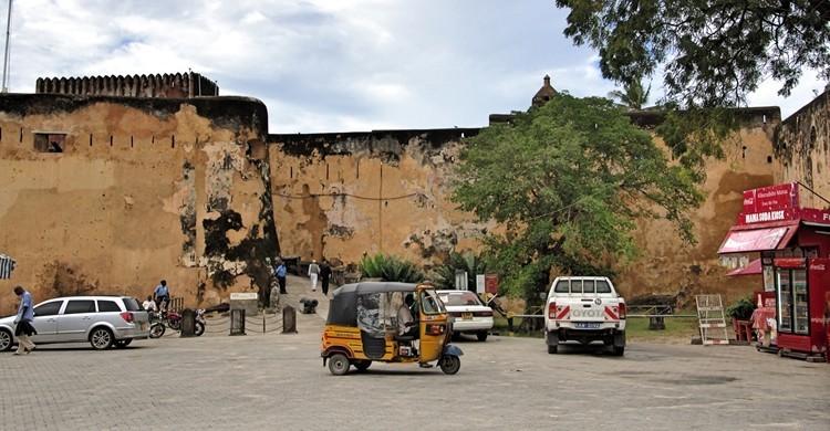 Ciudad de Monbasa, en Kenia. René (Flickr).