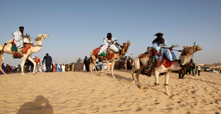 Tuaregs en Tombuctú, Mali. Aliou Sissoko, Gtres