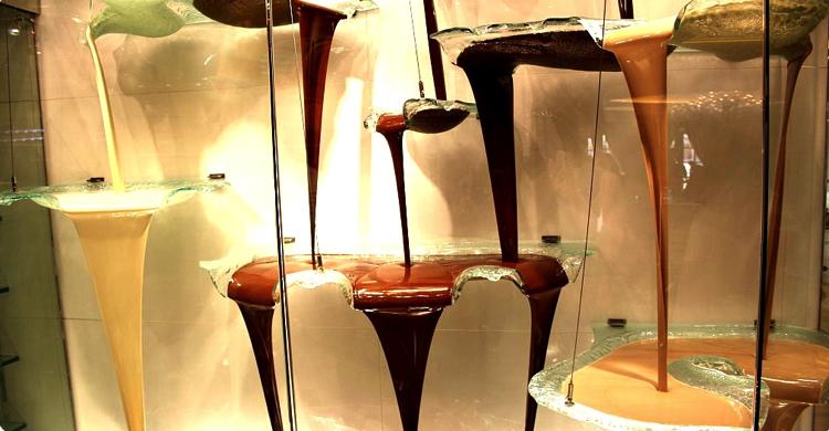 Fuente de chocolate del Bellagio. Fuente: globetrottergirls.com