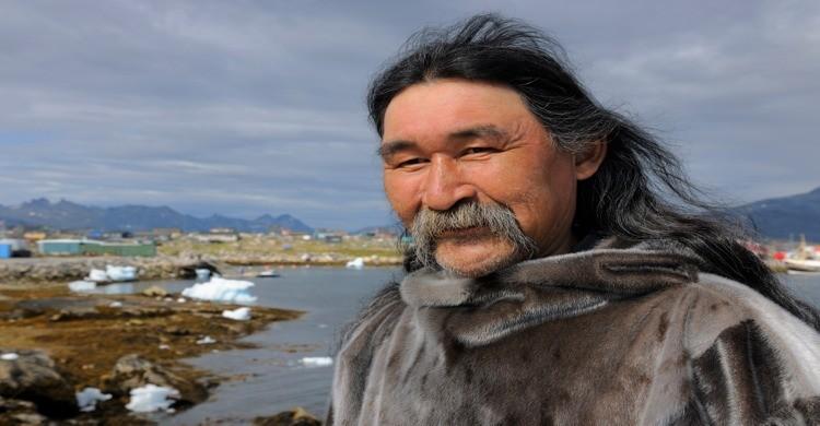 Esquimal de Groenlandia. Bertrand Rieger, Gtres.