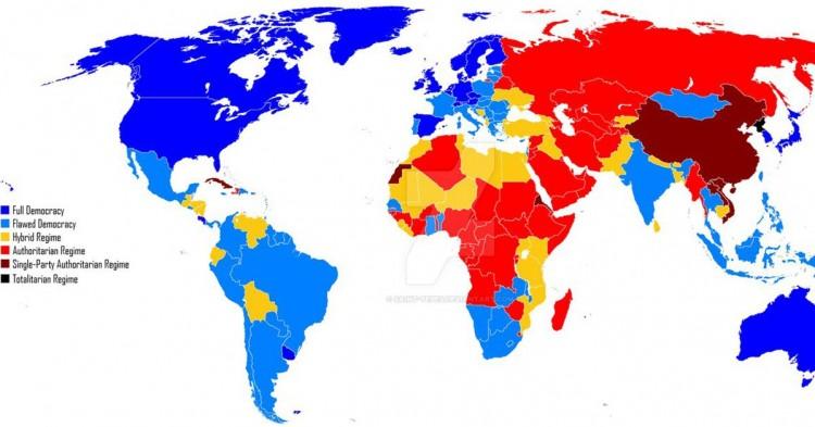 Índice de desarrollo por países (Deviantart)