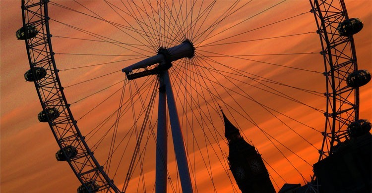 London Eye, Londres (Flickr)