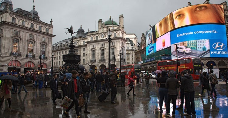 Picadilly Circus, Londres (Flickr)