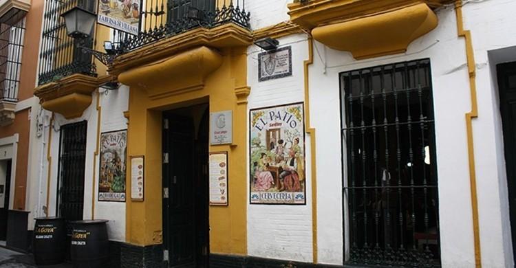 Fachada del Patio de San Eloy. www.patiosaneloy.com