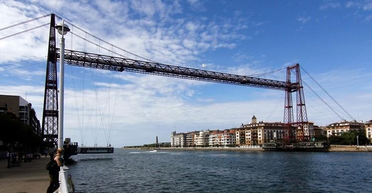 Puente de Portugalete. descubriendoelmundo (Flickr)