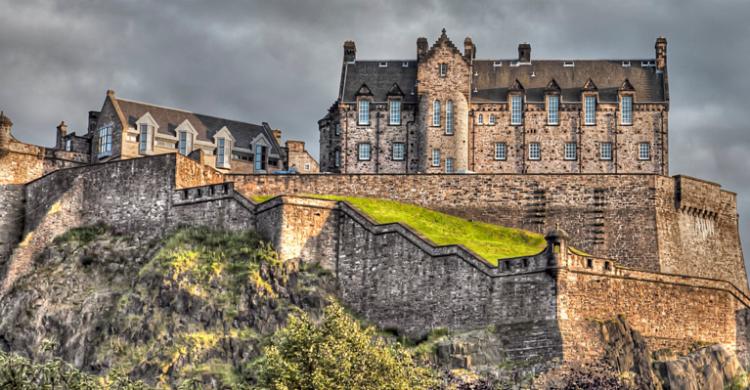 Castillo de Edimburgo - Alejandro Cárdaba Rubio (Flickr)
