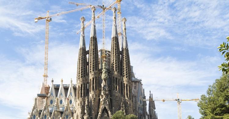 Sagrada Familia Construcción (iStock)