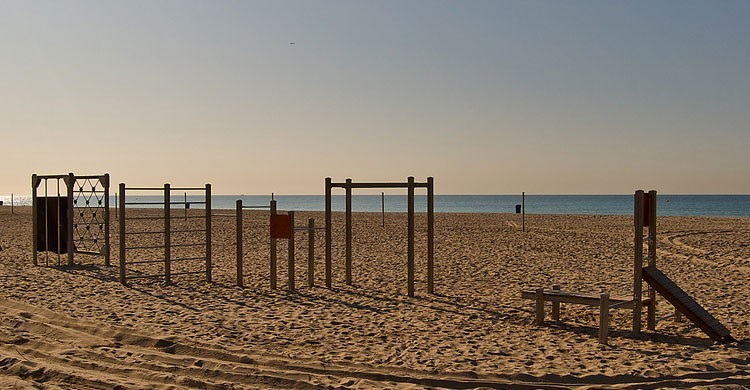 Disfruta de una tarde de playa en Castelldefels (Flickr)