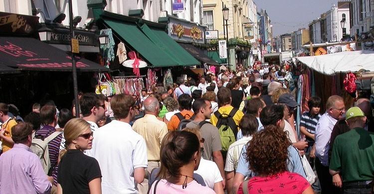 Portobello Market, Londres (Flickr)